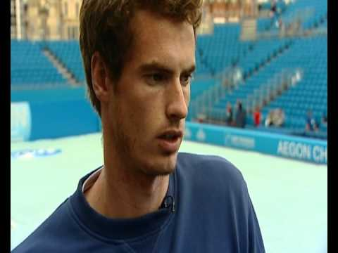 Andy Murray interview on Federer