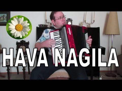 Hava Nagila (Jewish) Accordion