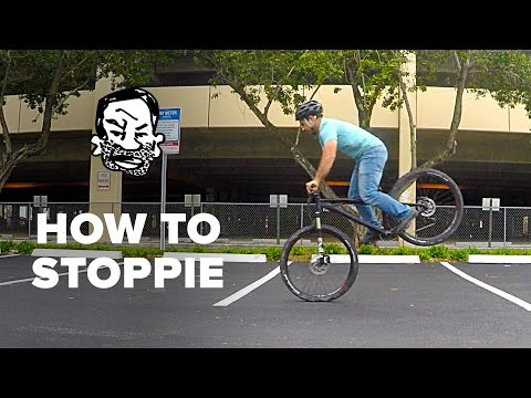 How To Stoppie A MTB