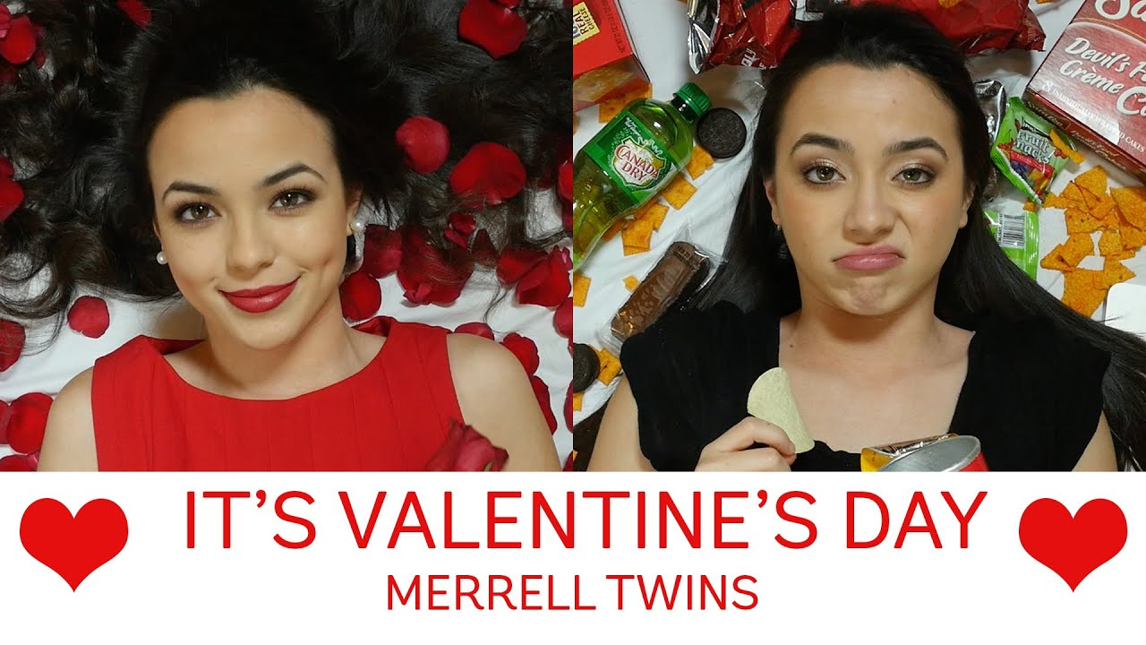 It S Valentine S Day Song Merrell Twins Youtube