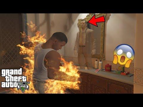 GTA 5 - OMG I Saw MICHAEL'S GHOST Again