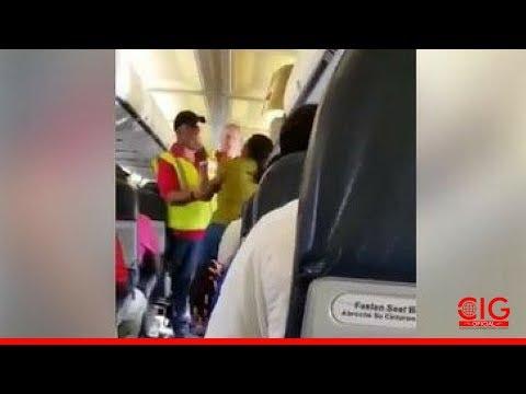 """Mulher """"tomada pelo Espírito"""" em avião teria livrado passageiros de acidente fatal"""