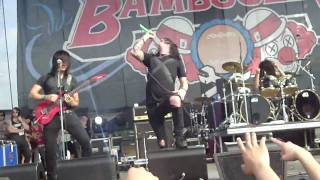 Escape The Fate Bad Blood Bamboozle 2010 LIVE HD GOOD SOUND QUALITY