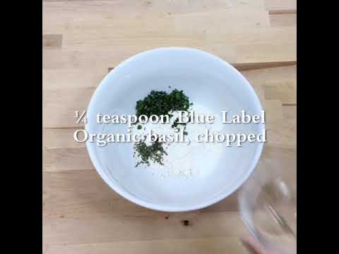 Sour Cream Herb Biscuits with Blue Label Organic Herbs