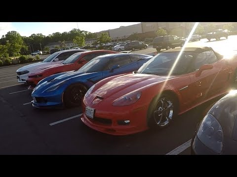 I Took My Dodge Charger To A Corvette Car Meet   2019 Dodge Caravan With Flowmaster Exhaust