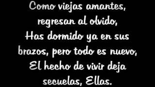 Ellas - Nach (Letra)