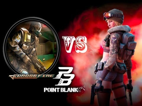 Point Blank Vs Crossfire : Ready Games