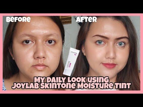 [Review] My Daily Look Using Joylab Skintone Moisture Tint + Swatch All Shades   Khansamanda - YouTube