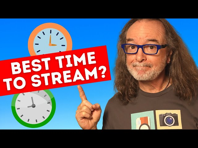 When is The BEST Time To Live Stream?