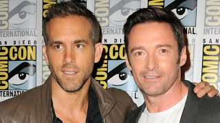Hugh Jackman On Why Ryan Reynolds Is 'FURIOUS' Over His Emmy Nomination