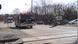 "Youngwood, PA VFD LODD Firefighter Edwin Jeff ""Lance"" Wentzel Funeral Procession"
