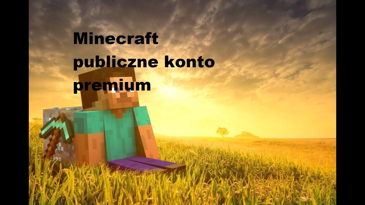 Minecraft Konto