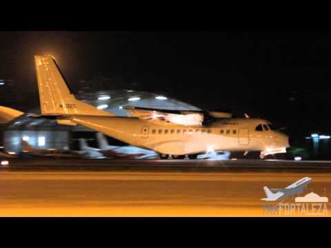 [SBFZ/ FOR] Pouso RWY13 AirTech CASA CN-235-200 N5025 Prescott Support Company 17/09/2015