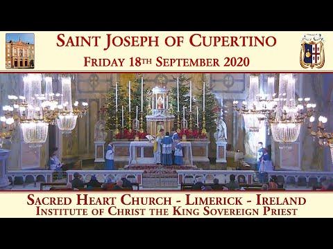 Friday 18th September 2020: St. Joseph of Cupertino