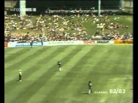 Joel Garner - UNPLAYABLE BOWLING vs Australia 1985