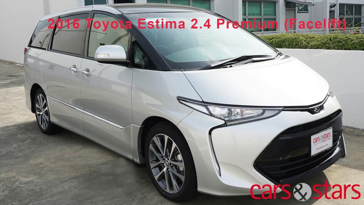 New TOYOTA ESTIMA AERAS Premium 2016 facelift - YouTube