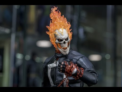 Hot Toys Agents of Shield Ghost Rider 1/6 Scale Figure Review (4K)