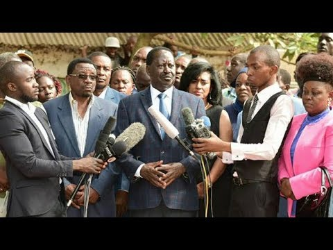 LIVE: NASA due to unveil venue of Raila 'swearing-in' at 2pm