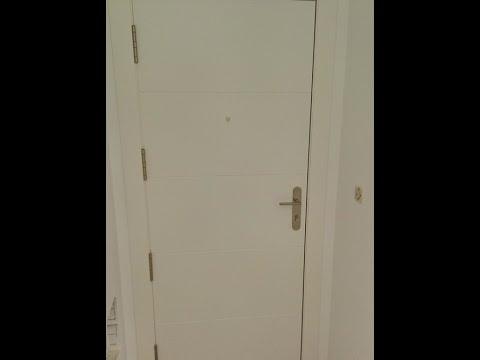 Cambiar la cerradura de una puerta de entrada blindada - Cambiar cerradura puerta blindada ...
