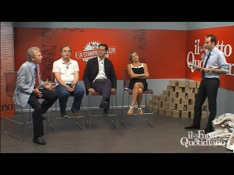 Nervi tesi (È la stampa bellezza 05-08-11 Talk Il Fatto TV)