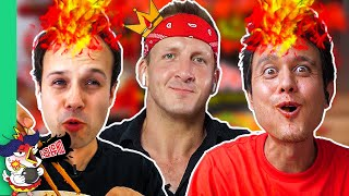 Fire Noodle Challenge w/ Mark Wiens and Food Ranger!! (10x SPICE!!)
