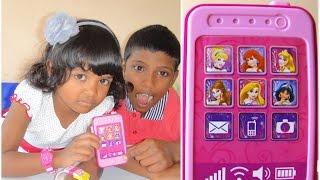 Disney Princess Toy Phone For Kids - 子供のためのディズニーの携帯電話