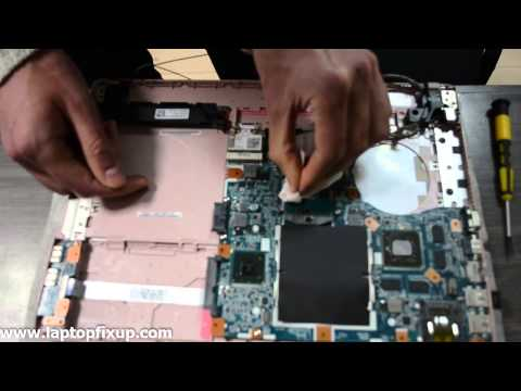 Sony Vaio changing cover