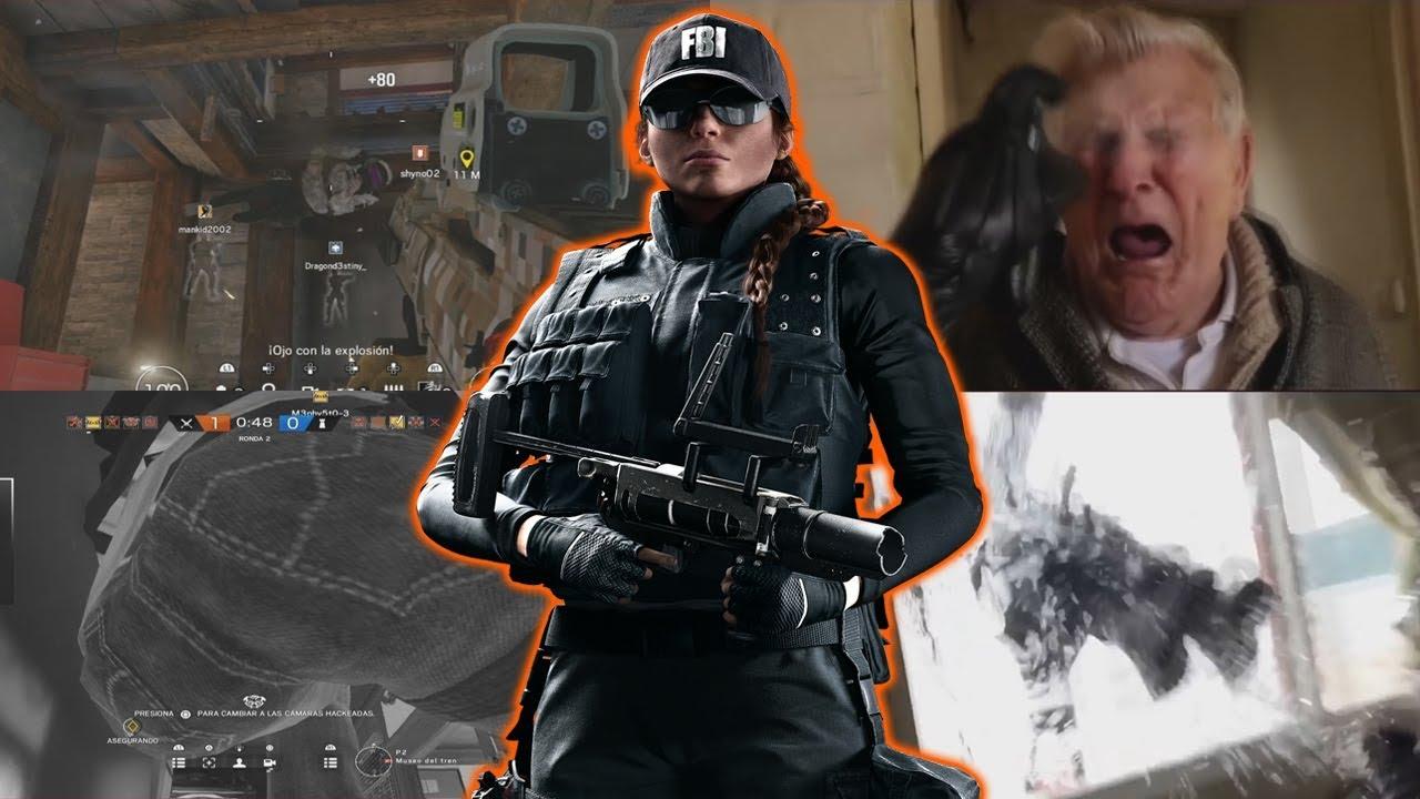 FBI swat raid meme Ash Rainbow six siege / best Ash player ...