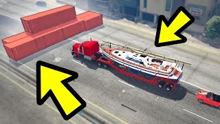 CAN YOU SAVE MICHAEL'S BOAT IN GTA 5? (Unbelievable)
