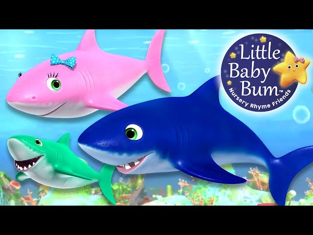 Baby Shark Song | Little Baby Bum | Nursery Rhymes for Babies | Songs for Kids