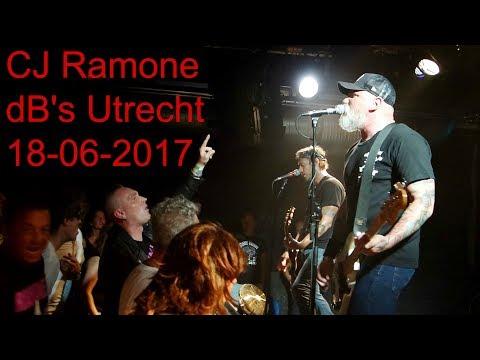 Cj Ramone live, dB's, Utrecht NL, 18-06-2017