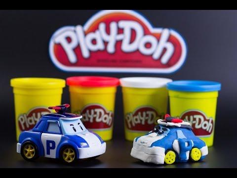 Play Doh Robocar Poly