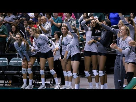 Rainbow Wahine Volleyball 2017 - Hawaii Vs CS Fullerton