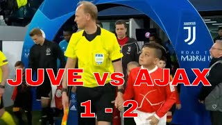 JUVENTUS vs AJAX 1-2 Champions League 2019 - Highlights Best Moment