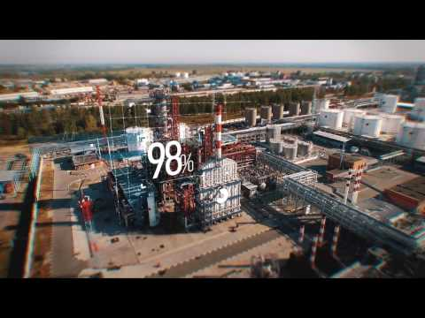 The film is created to celebrate the 10th anniversary of New Stream Group. Antipinsky Oil Refinery.