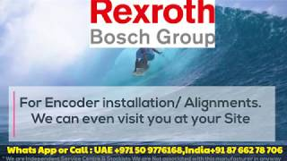 Repair Health Check Run Test of Servo Motors Encoders EEncoder Alignment