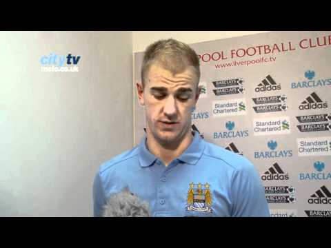 Liverpool v City: Joe Hart EXCLUSIVE reaction to draw at Anfield