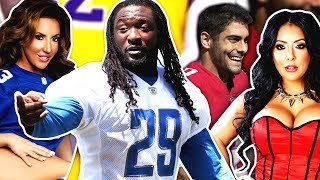 LEGARRETTE BLOUNT'S SIDE-CHICK EXPOSES HIM, PORN STAR KIARA MIA CURSED JIMMY G? & MORE...