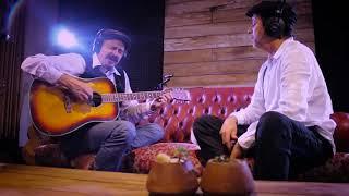Pirisca Grecco e Pedro Ribas estreando o estúdio Caixa de Sons | Música: Re-Existir