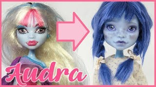 """""""AUDRA"""" ~ Monster High Abbey Repaint 🌧️ Rainy day faceup !"""