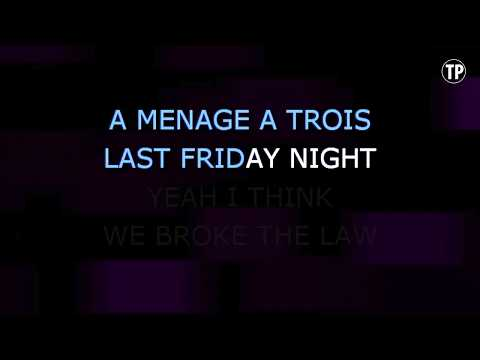 Last Friday Night (T.G.I.F.) - Glee Cast   Karaoke