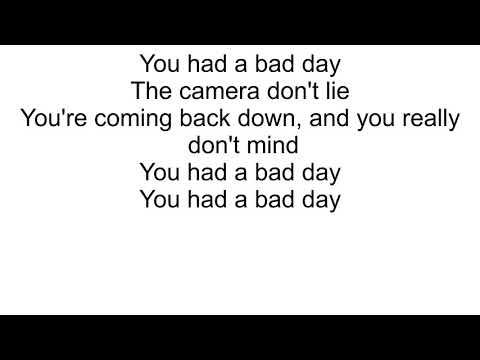 Daniel Powter - Bad Day Lyrics