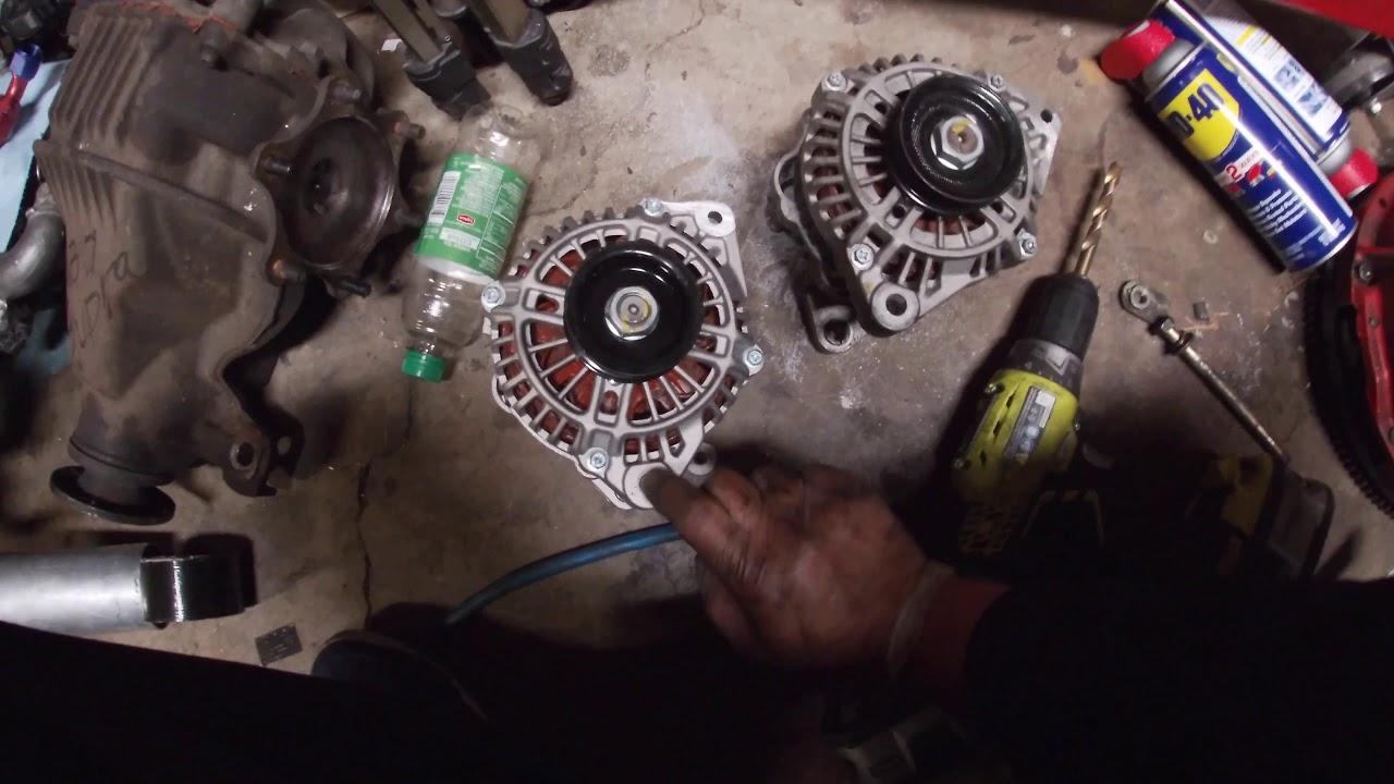 Ka24de 240sx 100 Amp Quest Alternator Upgrade