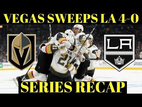 Golden Knights vs Kings Series Recap - NHL Playoffs 2018