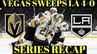 Golden Knights vs Kings Series Recap - NHL Playoffs 2018