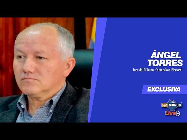 Ángel Torres, Supuesta reunión secreta con Yaku Pérez- NotiMundo