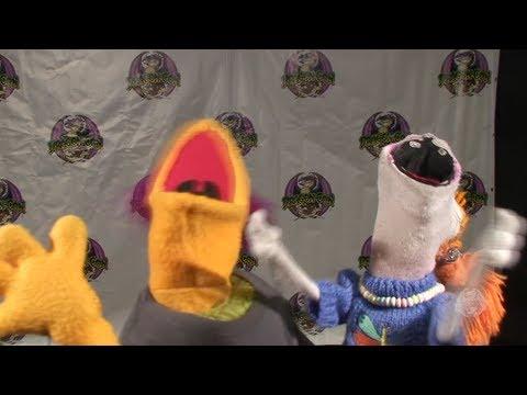 Lolly Lardpop & Randall at Dragon Con