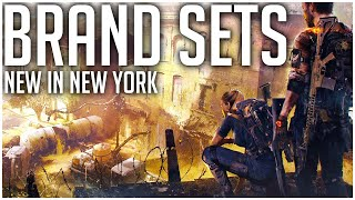 NEW BRAND SETS Coming in The Division 2 Warlords of New York Expansion!