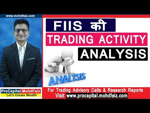 FIIs की TRADING ACTIVITY ANALYSIS