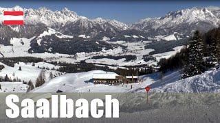 Ski Austria - Saalbach - largest ski resort in Austria